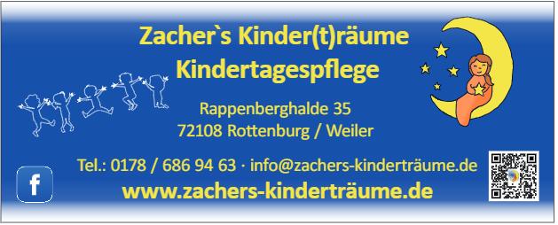 Zacher's Kinder(t)räume